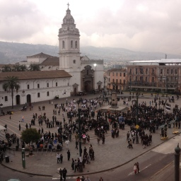 A Day in San Francisco de Quito