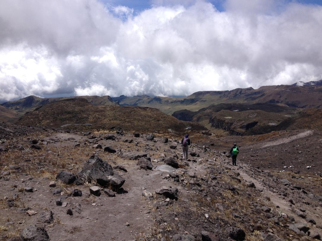 Descending Santa Isabel