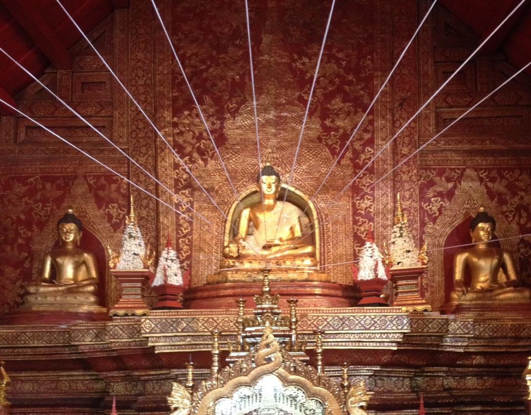 Buddhist temple: Wat Pra Singh in Chiang Mai