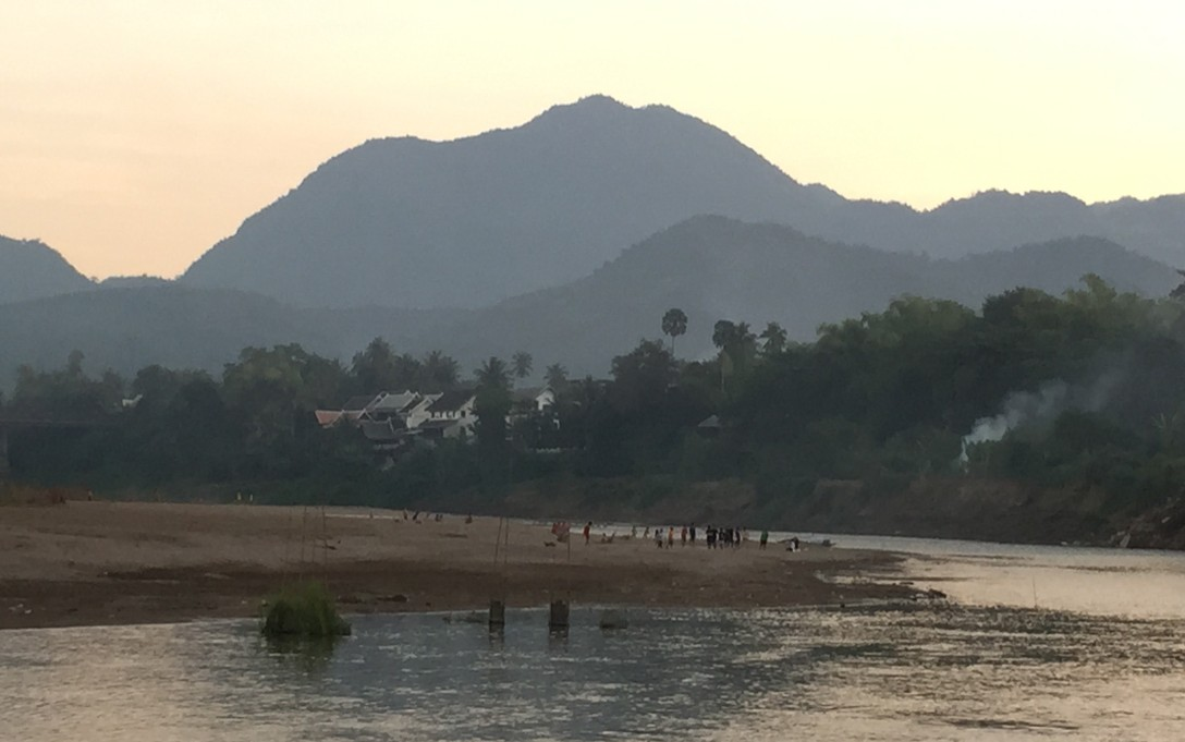 Nam Khan River in Luang Prabang