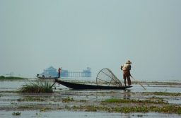 Walking to Inle Lake