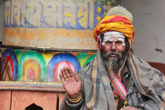 A holy man in Muktinath
