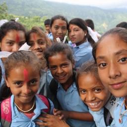 Survivors in Gorkha