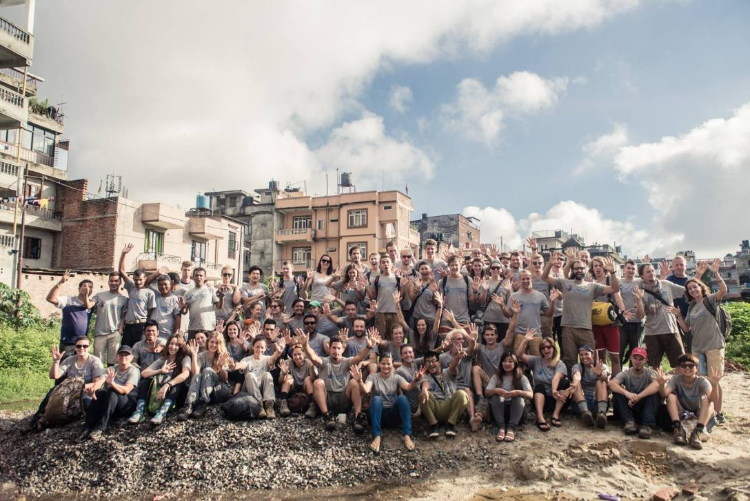 All Hands - Project Nepal volunteers