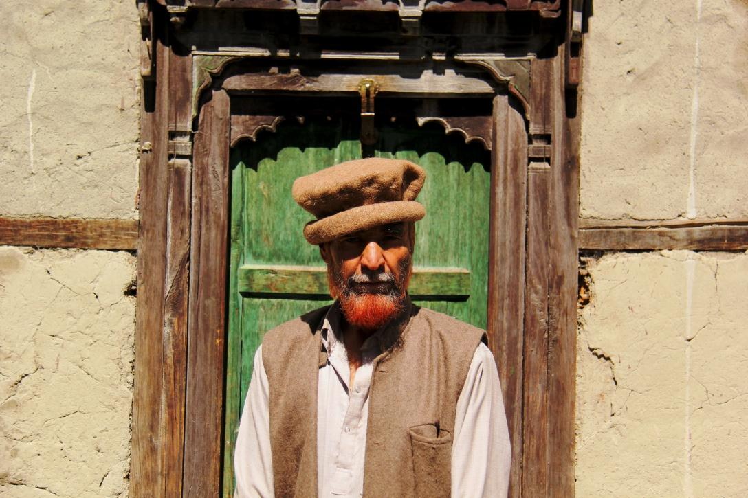 Mohammad Khan Kacho, a descendant of the King of Western Turkistan.