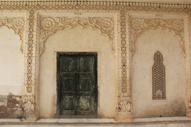 palace walls in Rajasthan