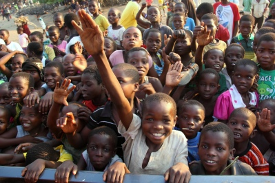 kids in Nsanje