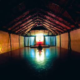 Yoga in Southern India